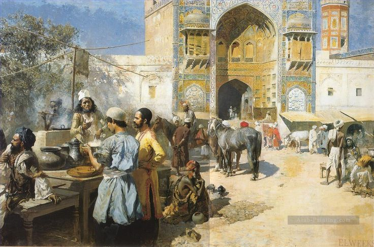 9-An-OpenAir-Restaurant-Lahore-Persian-Egyptian-Indian-Edwin-Lord-Weeks.jpg (1200×793)