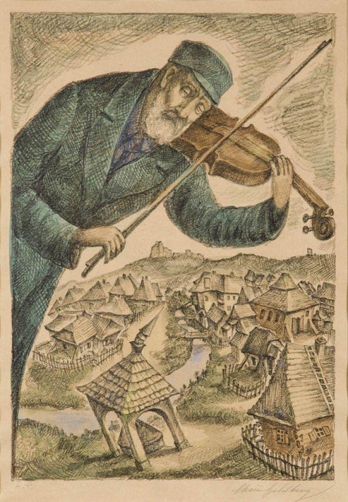 Chaim Goldberg - Skrzypek