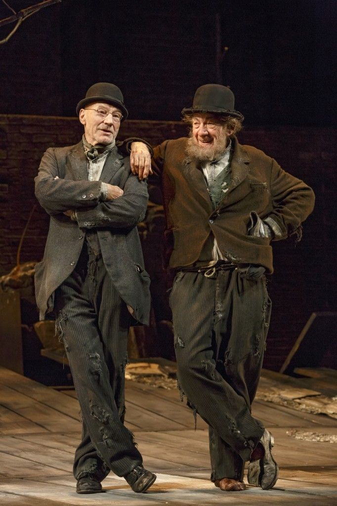 Ian McKellen and Partrick Stewart in Waiting for Godot: Stephen Brimson Lewis (Set and Costume Design)