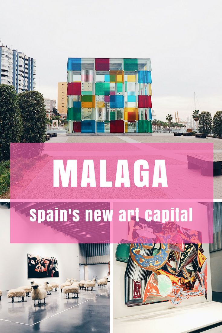 How Malaga on Spain's Costa del Sol has transformed into a major art and culture hub in the past ten years - plus more things to see and do in the area. #Spaintravel #contemporaryart