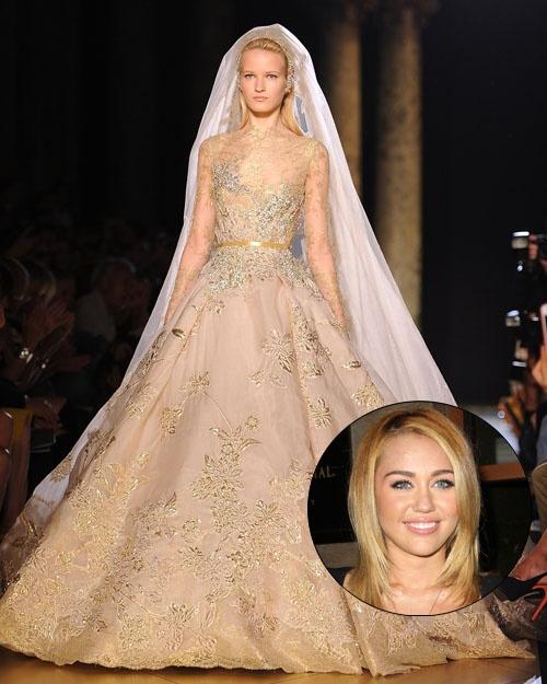 Miley Cyrus Wedding Photos: Miley Cyrus' Wedding Dress Found?