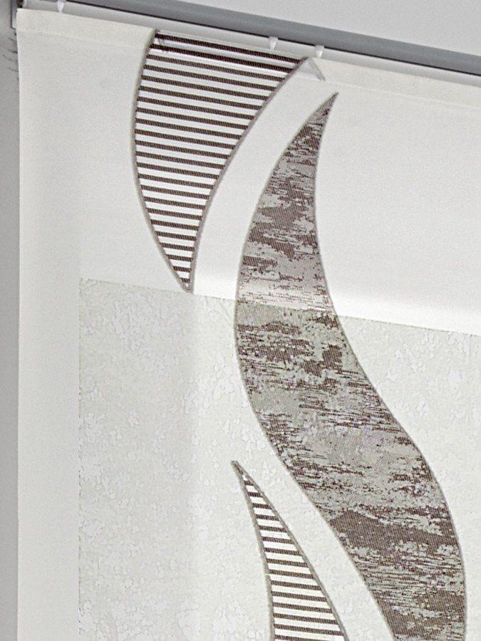 heine home Schiebevorhang ab 29,90€. Wunderschöner Schiebevorhang, Ein echter Hingucker für jeden Raum, Halbtransparent bei OTTO