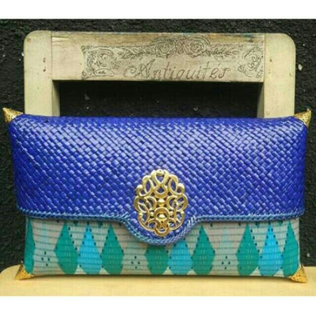 Slorot Rangrang Blue Size 27x17cm @85.000 Follow IG bag_sony WA 082277865928 Line 50nyab