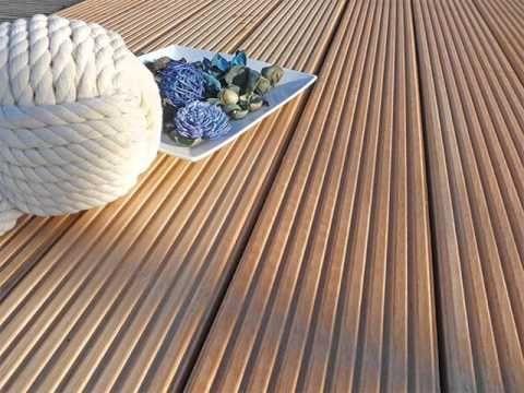 Custom Outdoor Wood Plastic Composite Floor