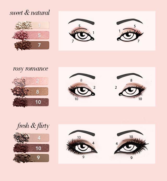ELF rose gold eyeshadow palette
