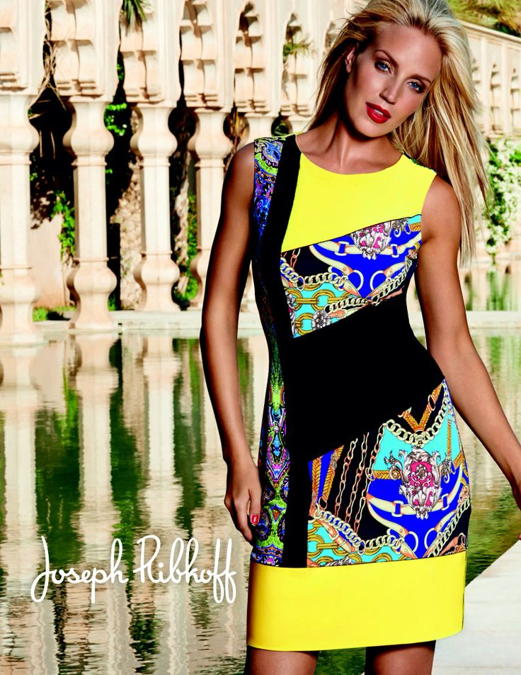 Joseph Ribkoff 2014 collection @ The Sandbox in the City.  #josephribkoff #dresses #cruisedresses