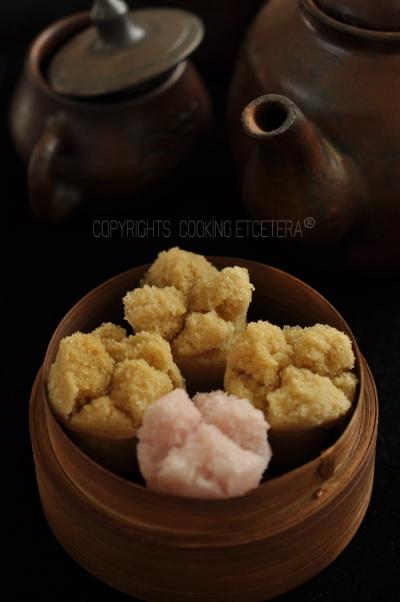 steamed coconut muffins (kue mangkok)