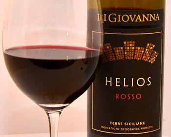 Vino della settimana: Helios 2012 di Di Giovanna