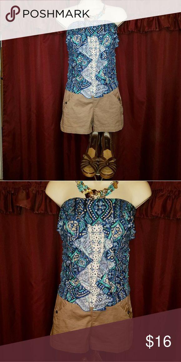 Chime Ladies Romper Chime Ladies Romper Size Large. Nwot chime  Shorts