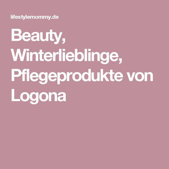 Beauty, Winterlieblinge, Pflegeprodukte von Logona