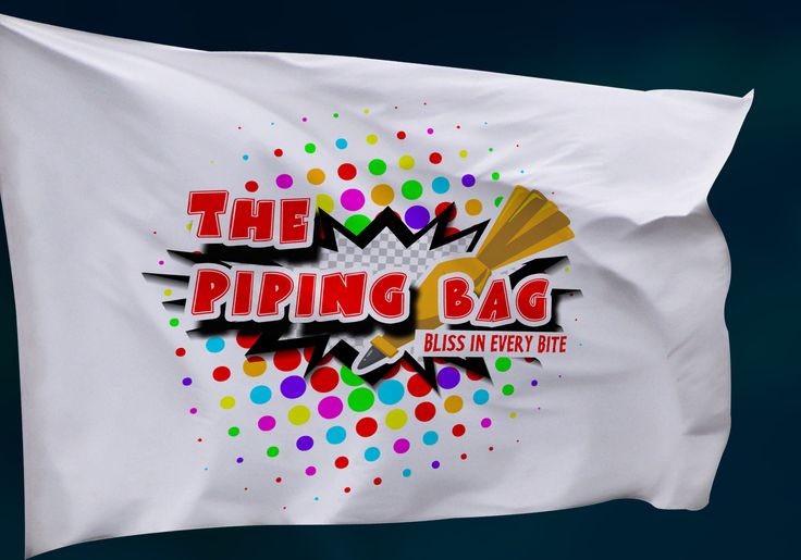 Logo Design for The Piping Bag