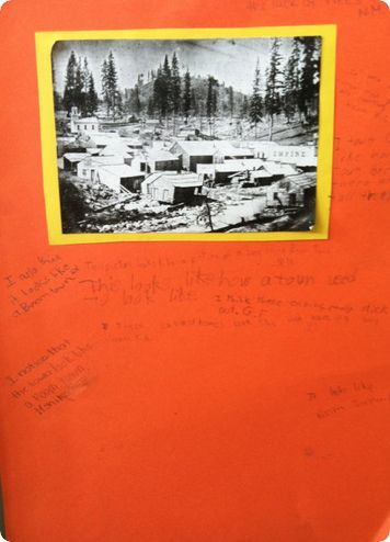 Gallery Walk--I am so doing this with Alabama History!: Q3 Ideas, Students Writing, Goldrush, Building Backgrounds