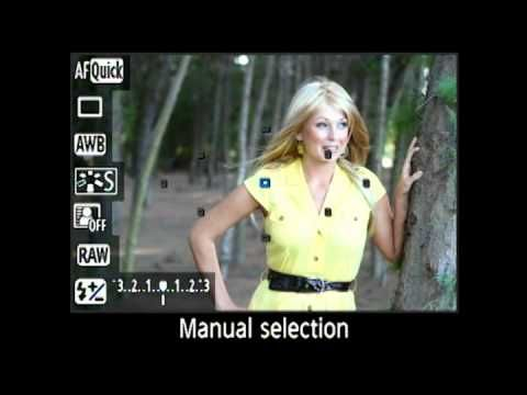 Canon 60D Live View Focus Controls | Training DVD Video Lessons for 60 D