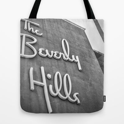 The Beverly Hills Hotel Tote Bag by Sarah Zanon - $22.00