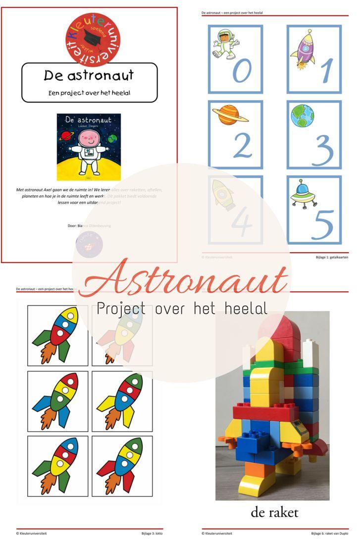 Kleuteruniversiteit: Astronaut - project over het heelal - jufBianca.nl