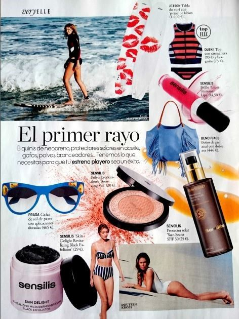 The sky #fringe talega in @ellespain. So happy! #thetalega #ellemagazine  #accessories #benchbags #summerstyle #shoulderbag