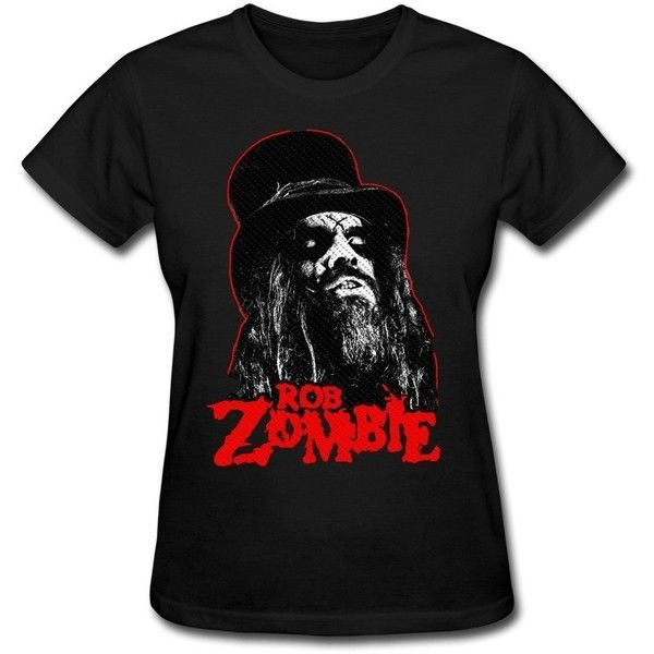 Women's Rob Zombie Logo T-shirt ($20) ❤ liked on Polyvore featuring tops, t-shirts, logo tops, logo tee and logo t shirts