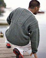 Old Way Gansey from knitting daily / Interweave and FREE PDF download when you join up to the site.... also free!
