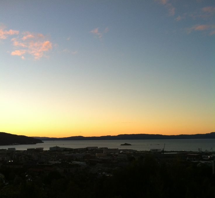 View from Kuhaugen #Trondheim
