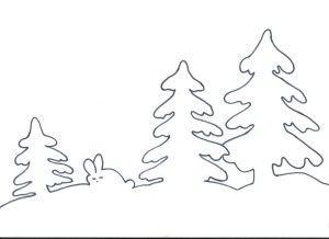 christmas presents stencils
