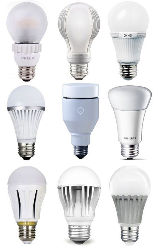 """Best of the Bulbs: 2013 LED Light Bulb Buyers Guide Apartment Therapy's Annual Guide"", featuring the IKEA LEDARE LED bulb! @ApartmentTherapy.com"