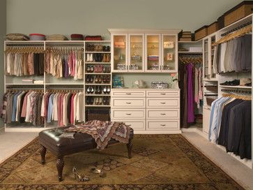 Turn a spare bedroom into a huge walk in closet.