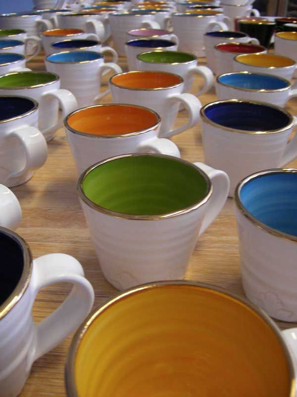 Coffee Cup                                                         (design & manufacturer: Linnefors Pottery, Sweden)
