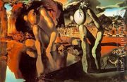 Metamorphosis of Narcissus  by Salvador Dali (inspired by)