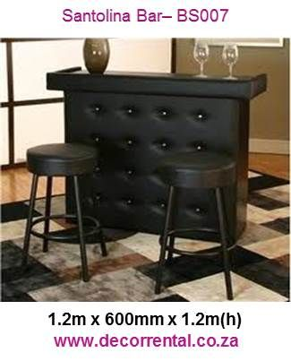Bar counter with Fly Buttons