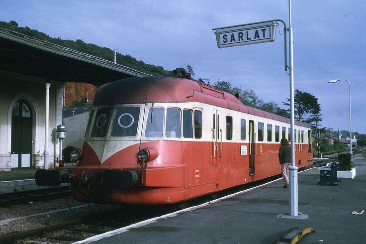JHM-1972-2588 - France, Sarlat, SNCF, autorail ABJ Renault