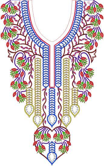 Embroiderystars,com  Dozens of Neckline designs and more