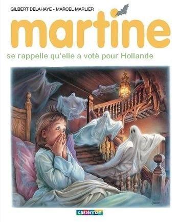 Martine se rappelle qu'elle a voté pour Hollande
