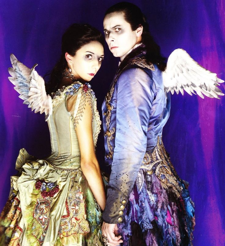 Vampiric fairies from Matthew Bourne's Sleeping Beauty: A Gothic Romance.