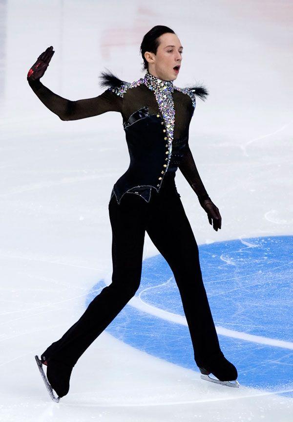 johnny weir men skating gay