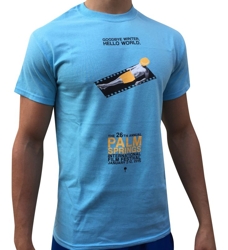 Palm Springs Film Festival 2015 Poster T-Shirt