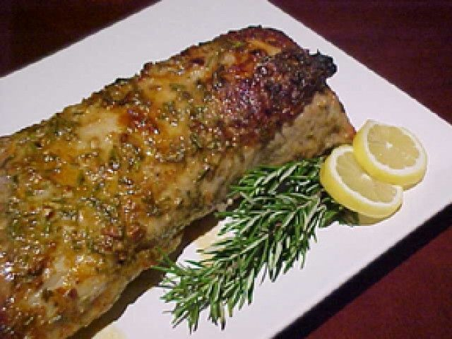 Boneless pork roast recipe rosemary
