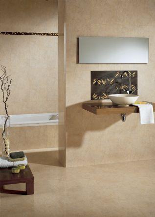 Si est s pensando en renovar tu ba o aqu encontrar s una for Murales para banos modernos