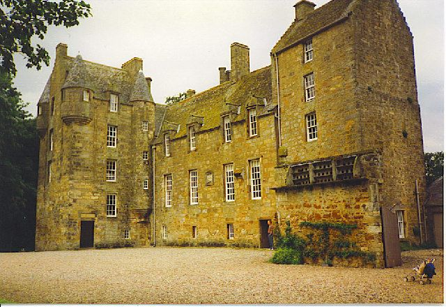 Kellie Castle, one of the finest castles in Scotland, is located just outside Arncroach, about 5 kilometres north of Pittenweem in the East Neuk of Fife.