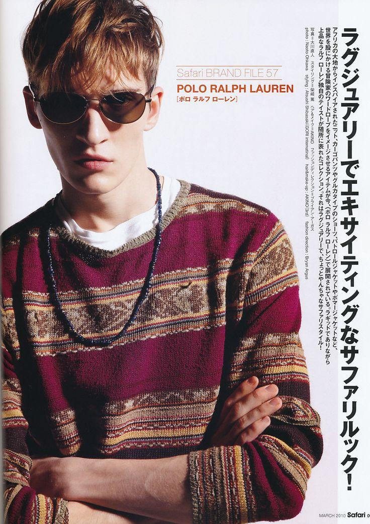 Matvey Lykov for Polo Ralph Lauren