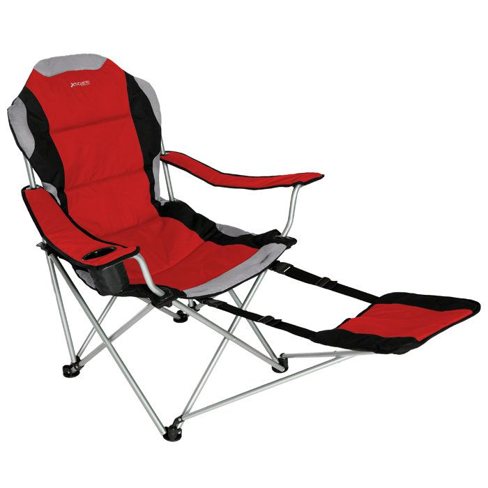 Sportline Xl Quad-Fold Chair with Footrest  sc 1 st  Pinterest & 31 best Better Folding Camping Chairs images on Pinterest | Camp ... islam-shia.org