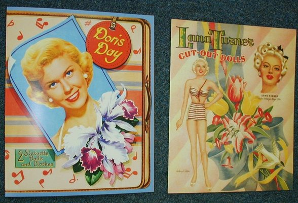 Doris Day & Lana Turner: Vintage Paper, Movies Tv, Paper Dolls, Movie Stars, Stars Paper, Dolls Boards, Dolls Movie