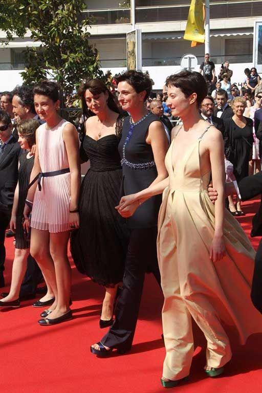 Le Meraviglie, Alba Rohrwacher, Alice Rohrwacher e Monica Bellucci sul red carpet a Cannes.
