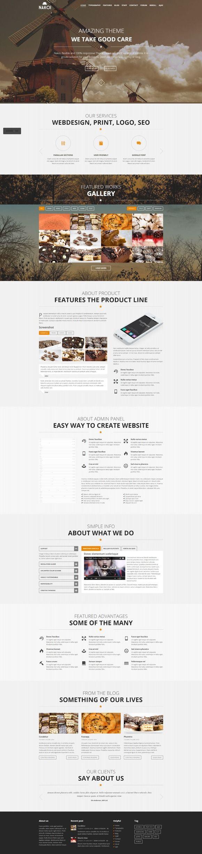 67 best web template images on Pinterest | Web layout, Website ...