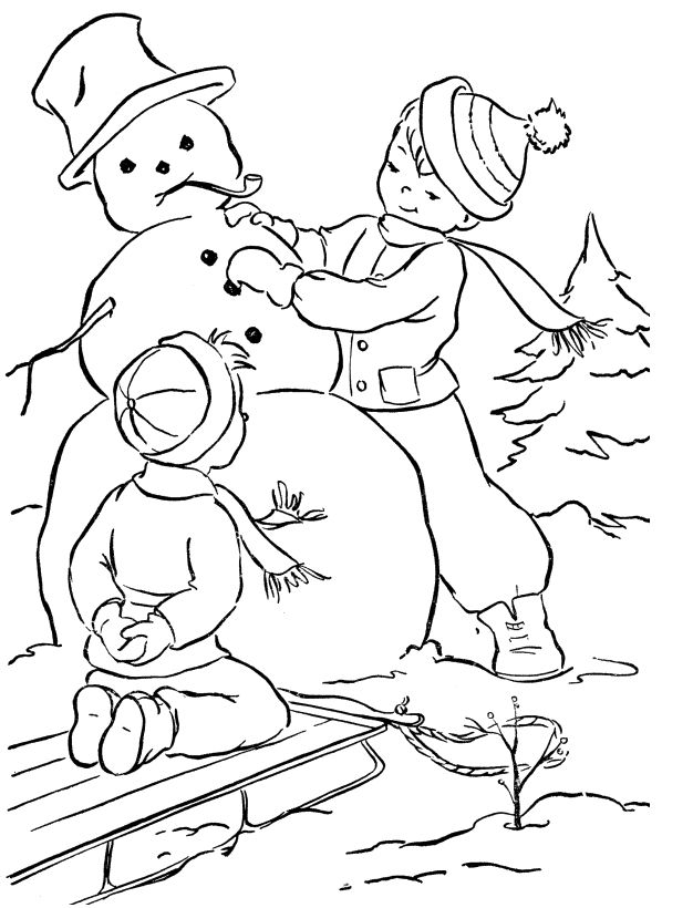 87 best Christmas Snowman Coloring Page images on Pinterest