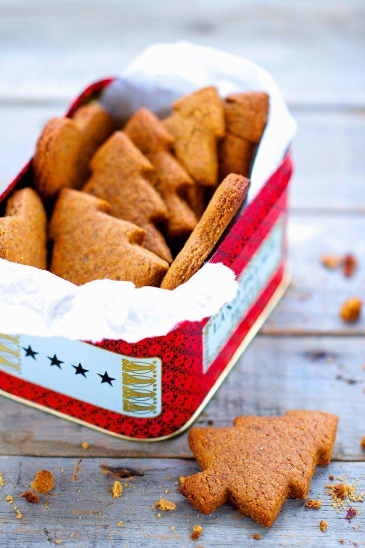 Spéculoos (au sucre de canne complet) Desserts aux sucres naturels d'Ellen Frémont Editions Larousse Cuisine