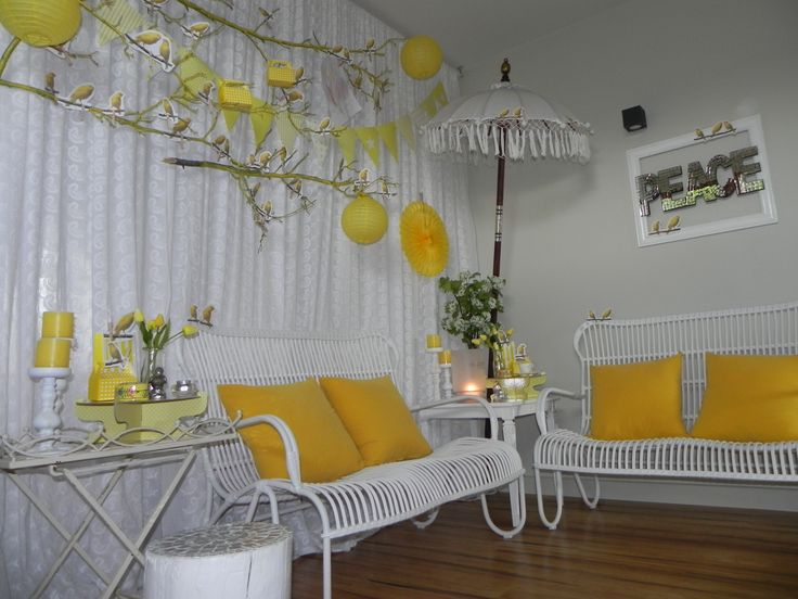 www.organiqueearthspa.com.au Organique Earth Spa - Mornington Day Spa experience. A splash of yellow in our clinic to warm up a cold winters day...