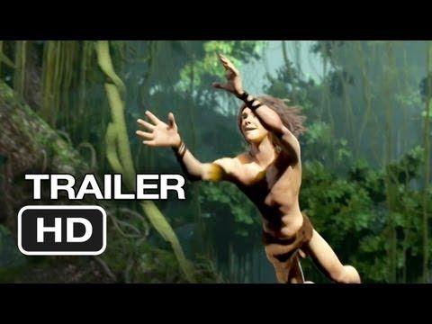 ▶ Tarzan Official Trailer #1 (2013) - Motion Capture Movie HD - YouTube