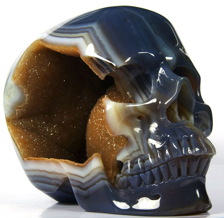 41 Best Surreal Agate Skulls Images On Pinterest