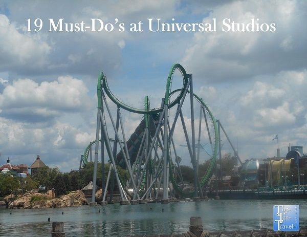 19 must-do's on any Universal Studios Orlando vacation!