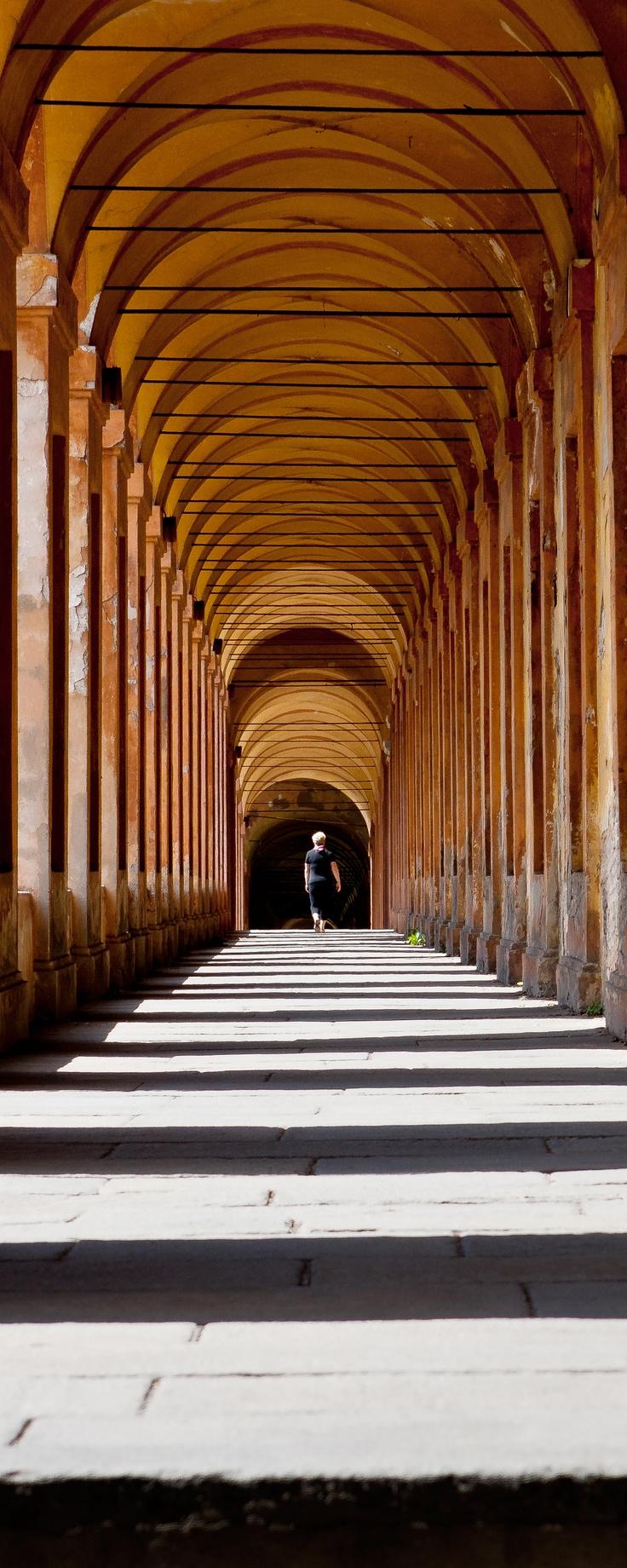 "Bologna -  The ""Orfanelle"" Arches, province of bologna , Emilia Romagna region Italy"